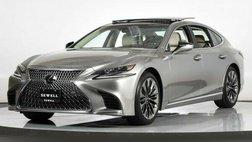 2019 Lexus LS 500 INTERIOR UPGRADE PKG / NAVIGATION / MARK LEVINSON