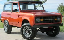 1968 Ford Bronco Un-Cut Comprehensive Frame-Off Restoration