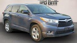 2016 Toyota Highlander Hybrid Limited Platinum