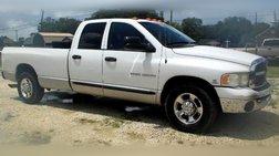 2005 Dodge Ram 2500 Laramie Quad Cab Long Bed 2WD