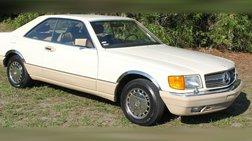 1989 Mercedes-Benz 560-Class 560 SEC