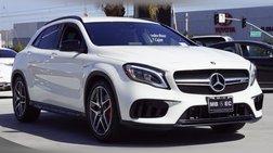 2018 Mercedes-Benz GLA-Class AMG GLA 45
