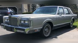 1986 Lincoln Town Car Cartier