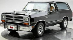 1989 Dodge Ramcharger 100