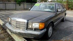 1986 Mercedes-Benz 420-Class 420 SEL