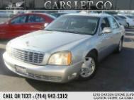 2005 Cadillac DeVille 4dr Sdn w/Livery Pkg