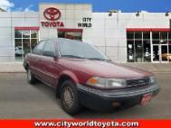 1989 Toyota Corolla LE