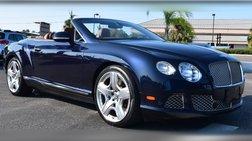 2013 Bentley Continental GT 2dr Conv