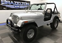 1976 Jeep CJ-7 Fully Redone, 4.2L 6-cyl, 3-spd, Nice Upgrades
