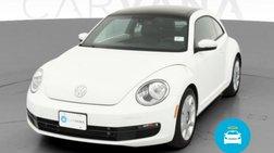 2016 Volkswagen Beetle 1.8T SEL
