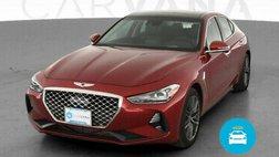 2019 Hyundai Genesis G70 3.3T Advanced Sedan 4D