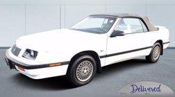 1990 Chrysler Le Baron HIGH
